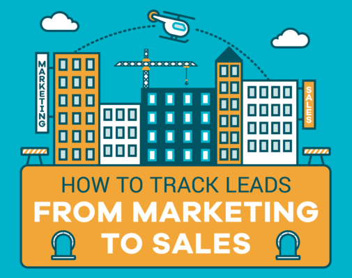 tracking leads from marketing to sales