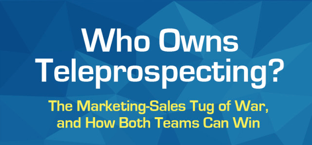 Who Owns Teleprospecting Infographic 2016