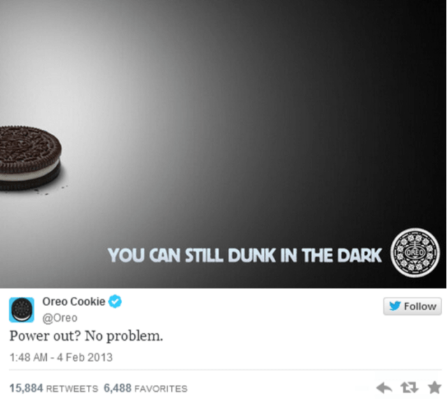 Oreo Cookie Real-Time