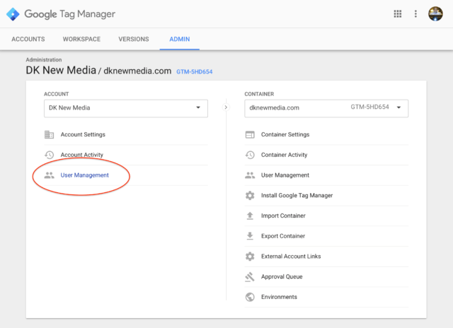 Google Tag Manager Users