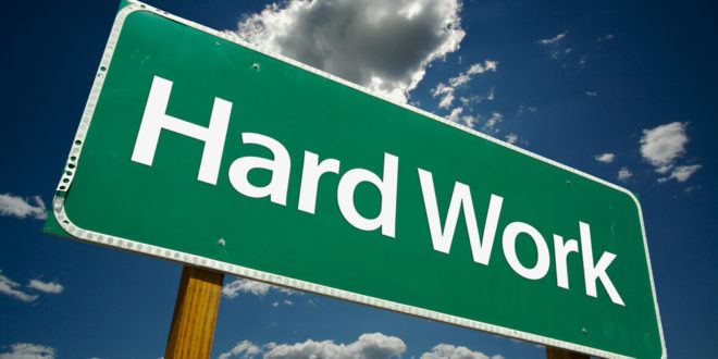 Despite What Marketers Market, Marketing is Hard Work