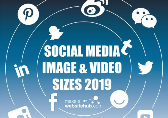 Social Media Image and Video Size Cheatsheet
