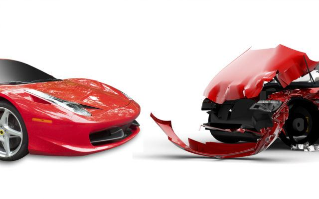 sports car before after