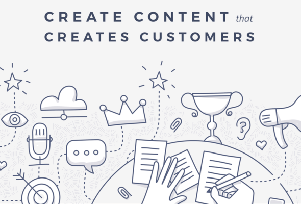 create content create customers