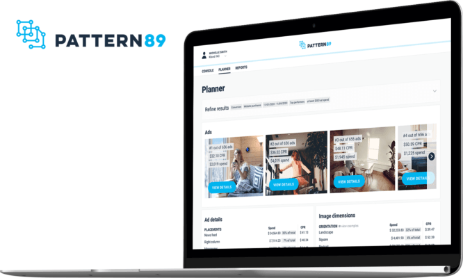 Social Advertising AI Platform - Pattern89