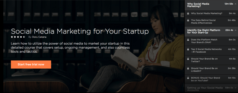 Social Media for Startups Course