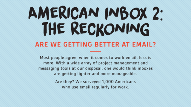 Email Behavior Changes