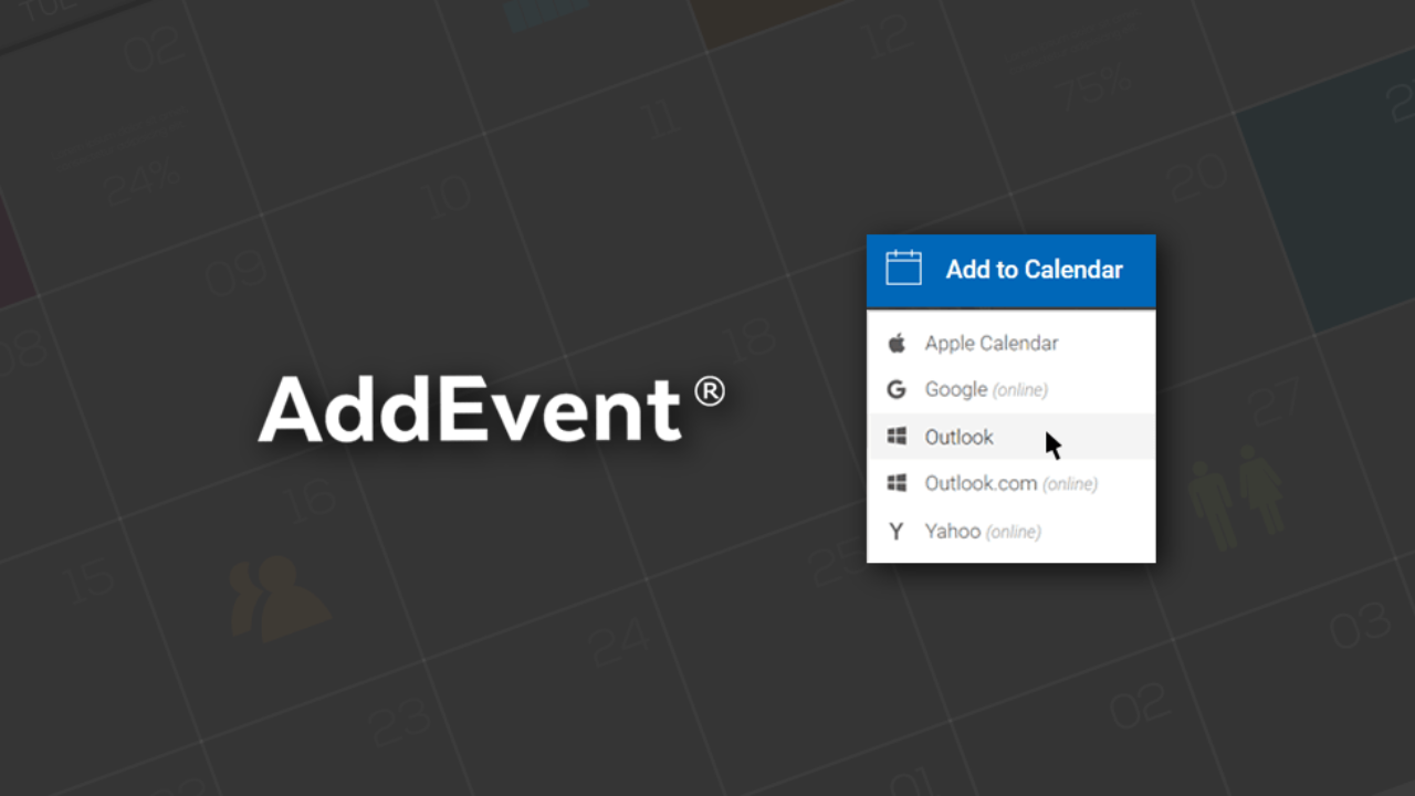 Add To Calendar addevent: add to calendar service for websites and