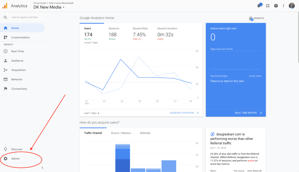 Google Analytics - How to Add a User