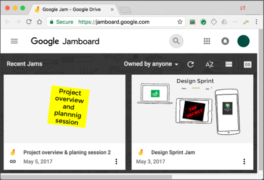Jamboard Service G-Suite