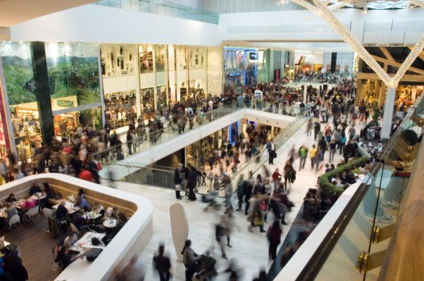 Busy Retail Mall