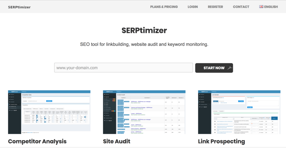 SERPtimizer - SERP analyzer