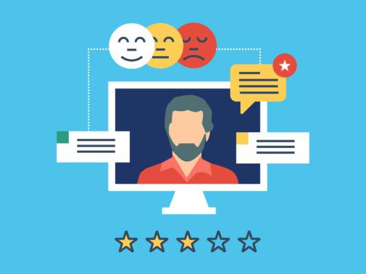 Customer Social Media Reviews and Testimonials