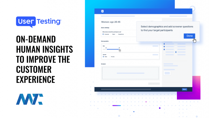 UserTesting: On-Demand Human Insights Platform for Customer Experience