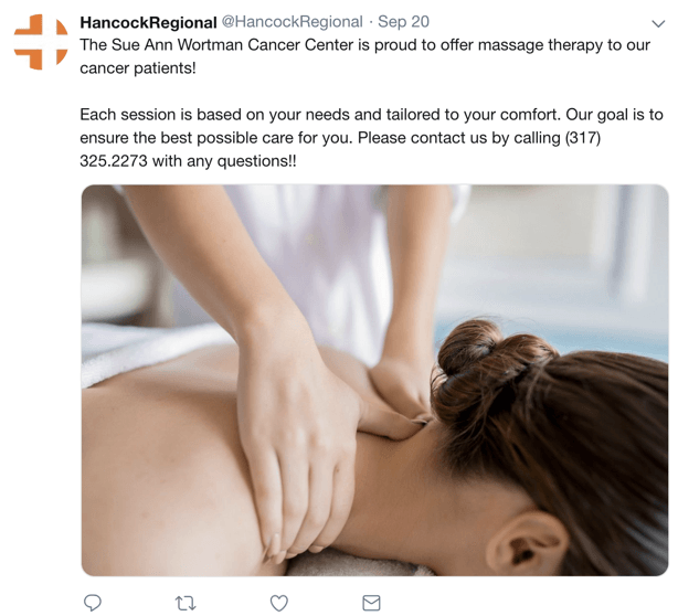 Hancock Regional Healthcare Marketing