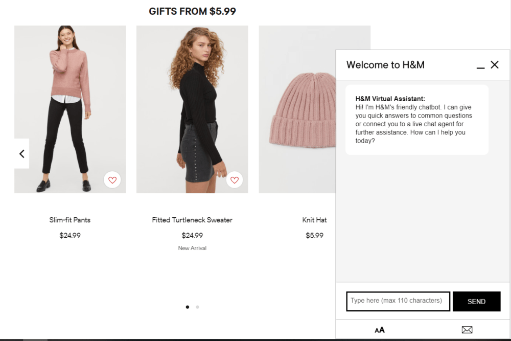 H&M Virtual Shopping Assistant