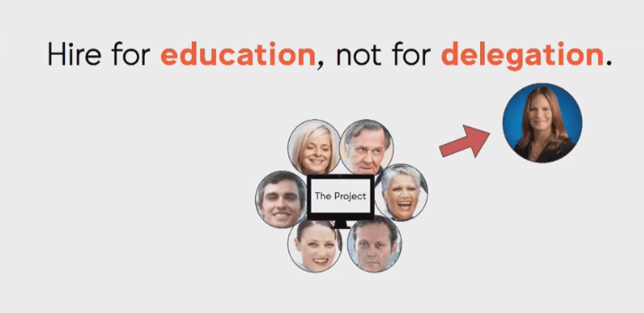 Hire Marketers for Education, Not Delegation