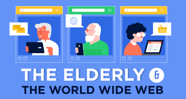Senior Citizen Mobile and Internet Usage Facts, Figures, and Statistics