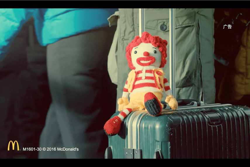 McDonald's Localized Content Example