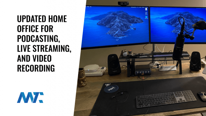 Home Office Remodel for Podcasting, Live Streaming, and Recording Videos