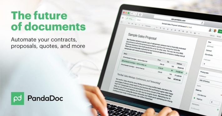 Panda Doc - Automate Your Sales Document Creation, Tracking, and Esigning