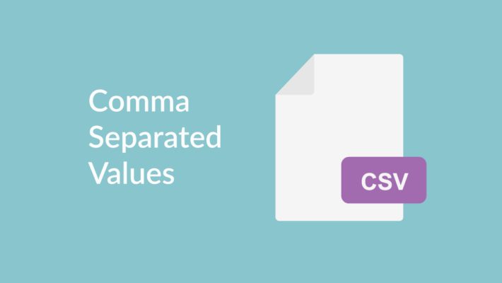 Comma Separated Values