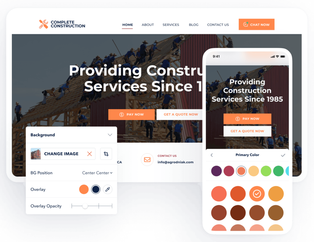 GoSite Website for Small Business