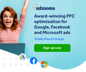 Adzooma Ad Management for Google, Facebook, and Microsoft Advertising