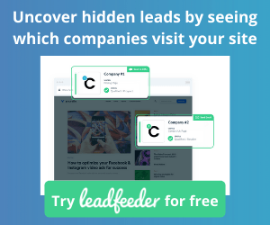 Identify B2B Visitors to your Website