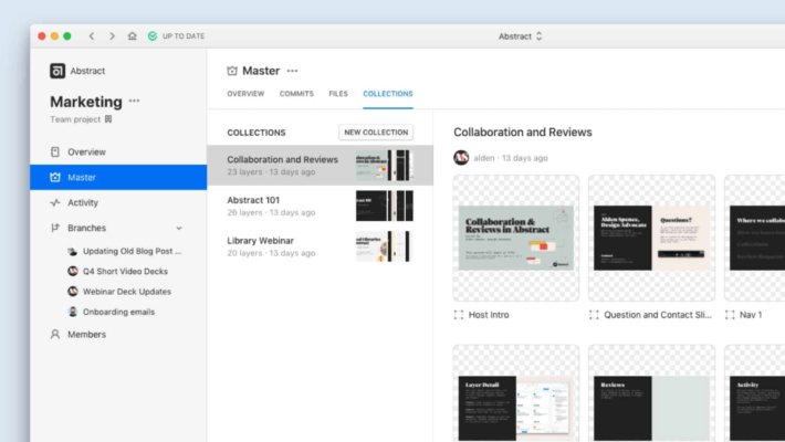 Abstract Design Collaboration for Sketch and Adobe XD