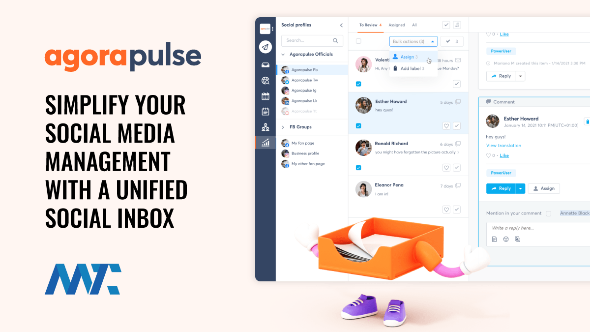 Agorapulse Your Simple, Unified Inbox For Social Media Management ...