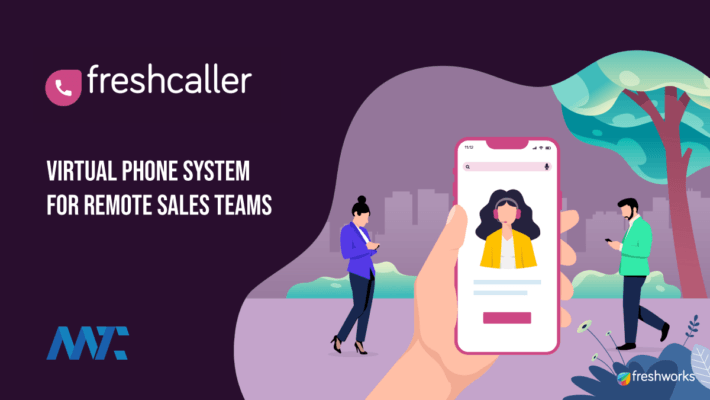 Freshcaller Virtual Phone System for Sales