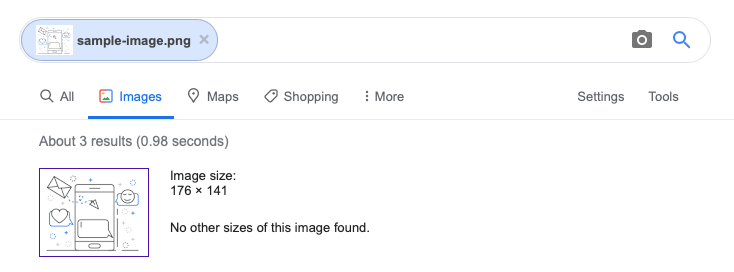 Google Image Search With Uploaded Image