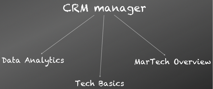 CRM Manager Responsibilities