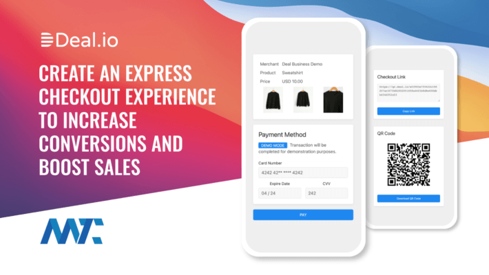 Deal Express Checkout Experience for Ecommerce