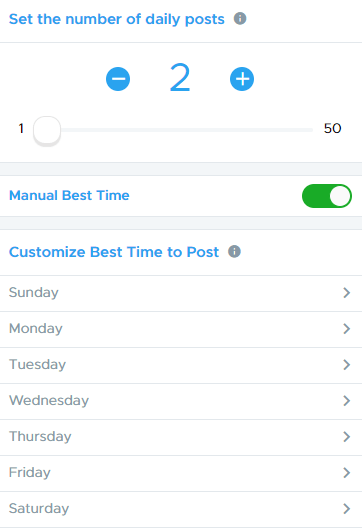 Social Media Scheduling with Crowdfire