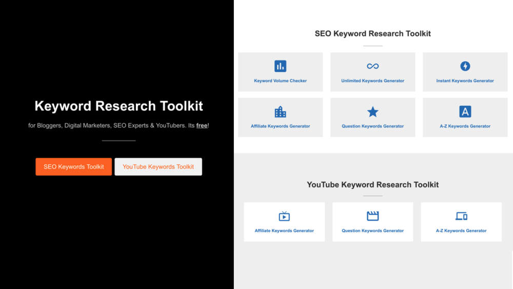 Explore Search and Youtube Keywords
