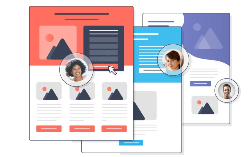 Segmented and Personalized Landing Pages