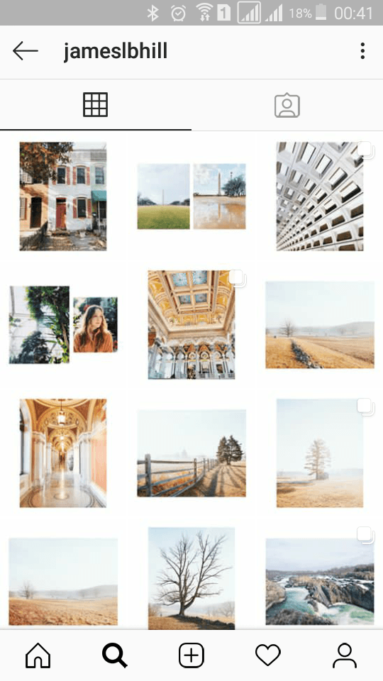 Instagram homes and locations