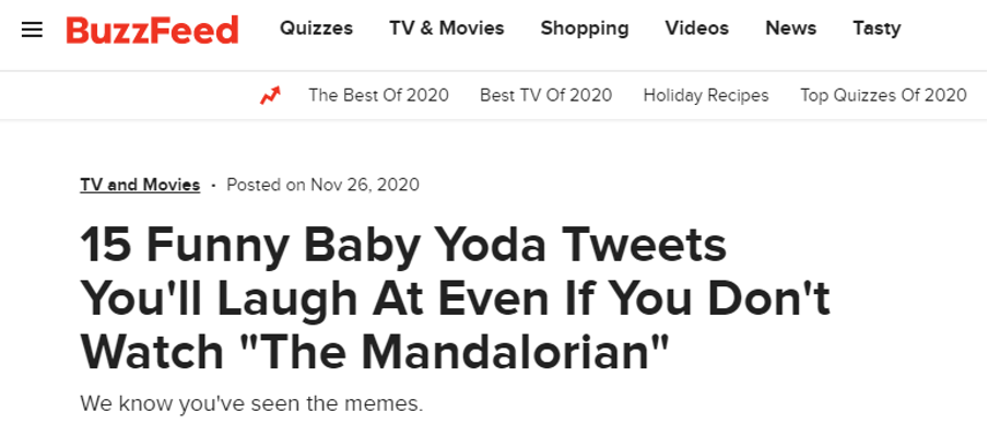 buzzfeed user generated content