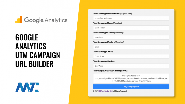 Google Analytics UTM Campaign URL Builder