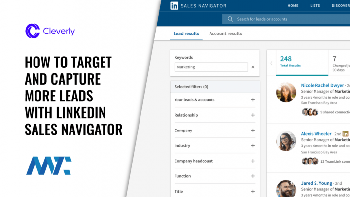 How To Get Leads With LinkedIn Sales Navigator