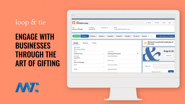 Loop & Tie: B2B Gifting Platform and Salesforce