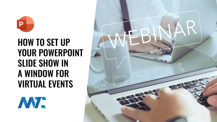 How To Set Up PowerPoint In A Window for Virtual Events