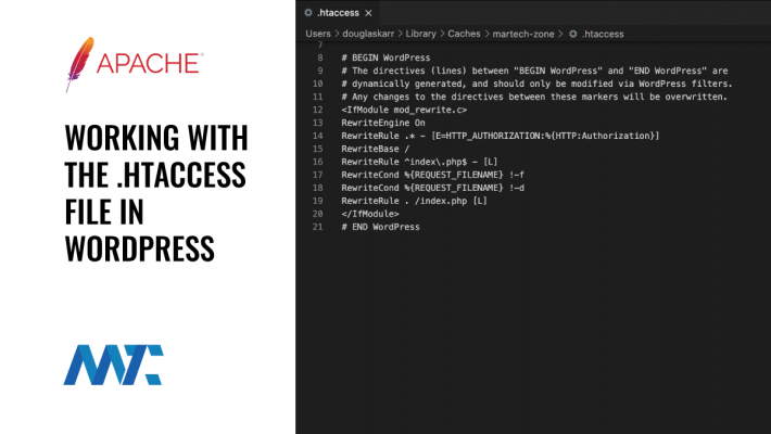 htaccess file WordPress