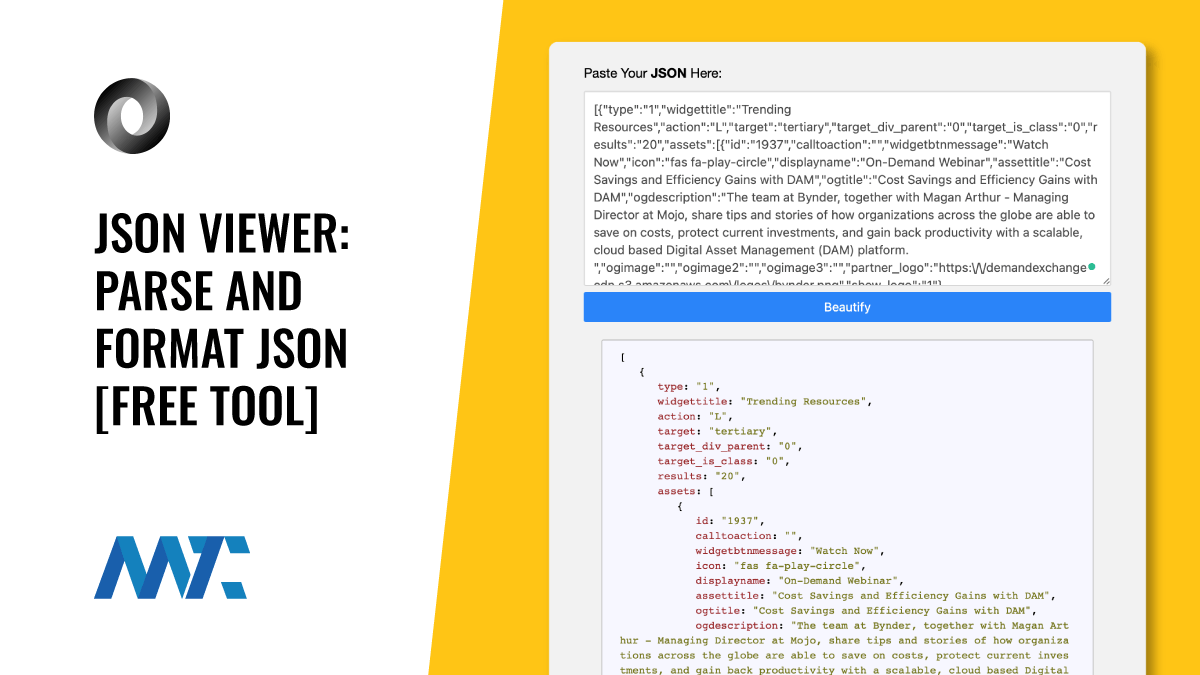 JSON Viewer: Free Tool To Parse and View Your API's JSON Output