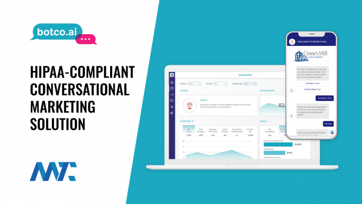 HIPAA-Compliant Conversational Marketing Platform - Botco.ai