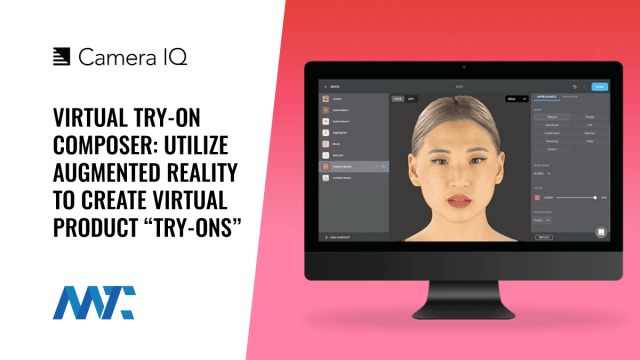 Virtual Try-On Composer: Augmented Reality from Camera IQ