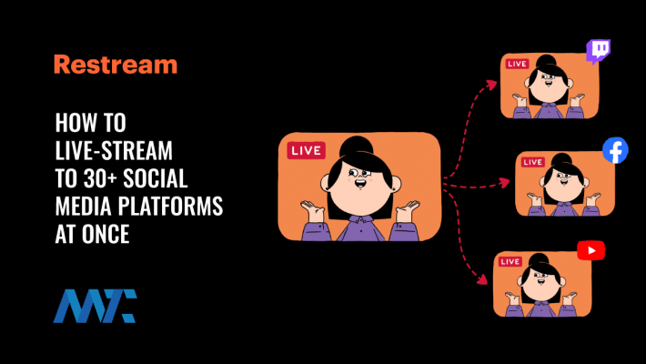 How to Live Stream to Multiple Social Media Platforms at Once