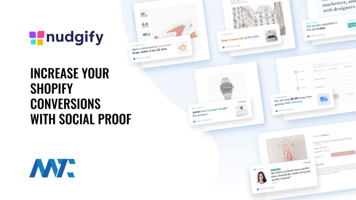 Nudgify: Social Proof for Shopify